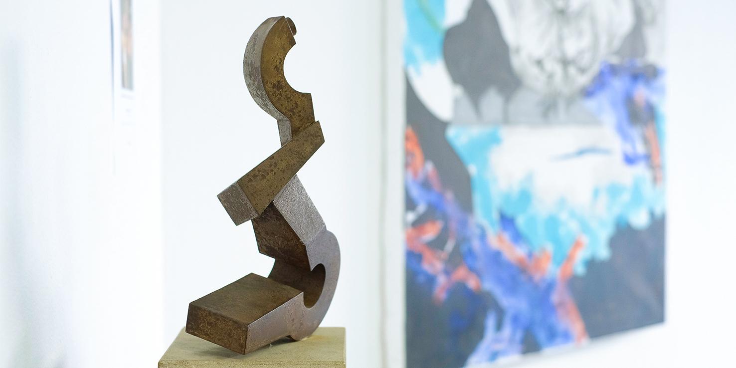 Skulptur Metall